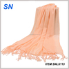 Newest design small quantity wholesale polyester scarf