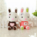 20CM Kawaii Love Rabbit Little Bunny Plush Toys Small Stuffed Animals Wedding Gift For Sale Kids