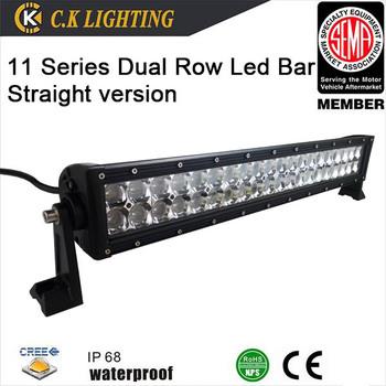 fef7911aeb6 aluminum housing light bar 36 volt off road led light bar with cree ...