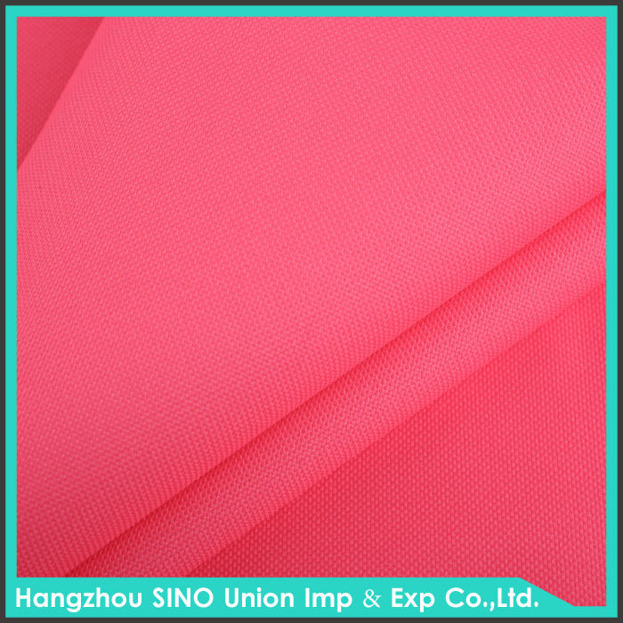 Wholesale REACH European standard PVC coated pink 300D 600D 750D oxford eco bag fabric