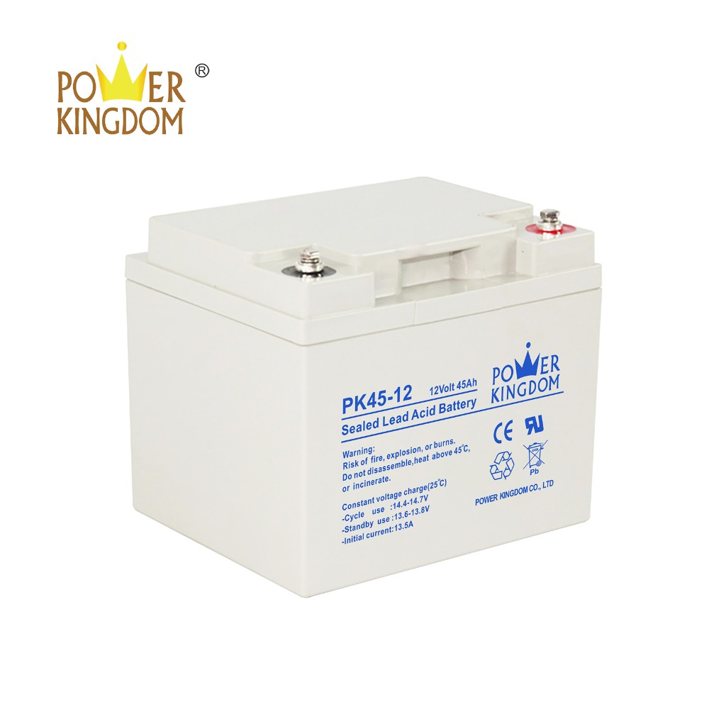 Power Kingdom 105ah agm deep cycle battery wholesale wind power systems-4