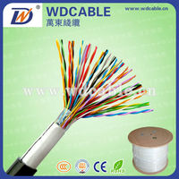 Factory price 100 Pair 0.4mm OFC UTP Telephone/network outdoor cable