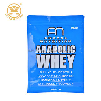 Resealable Whey Protein Powder Bag 22year History Packaging Product On Alibaba
