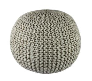 Popular round pouf Knitted Round Stool ,Pouf