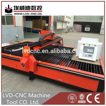 LVD-CNC series cnc plasma oxy fuel cutting machine for sale