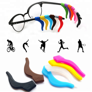 Silicone sport glasses ear holder / Glasses Ear Hooks Protectors / Glasses Hooks Grips