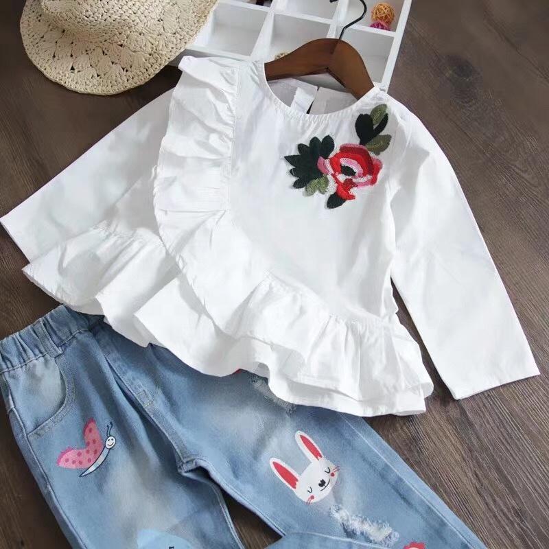 e051f3115943 Venta al por mayor blusas niña-Compre online los mejores blusas niña ...