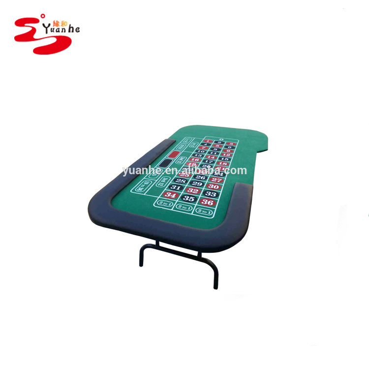 Roulette Table with Folding Legs PKTRLT-84