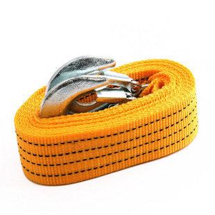 Бесплатная доставка 4 м 5 тонны буксировочный кабель буксировочный трос буксировочный трос с крючками для тяжелого режима автомобиль чрезвычайной