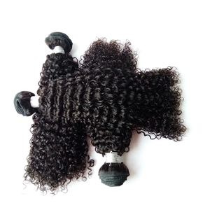7a grade premium blend natural color mongolian hair for black women virgin brandy kinky curly hair weave in all sizes