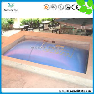Veniceton China household small biogas septic tank for cooking fuel