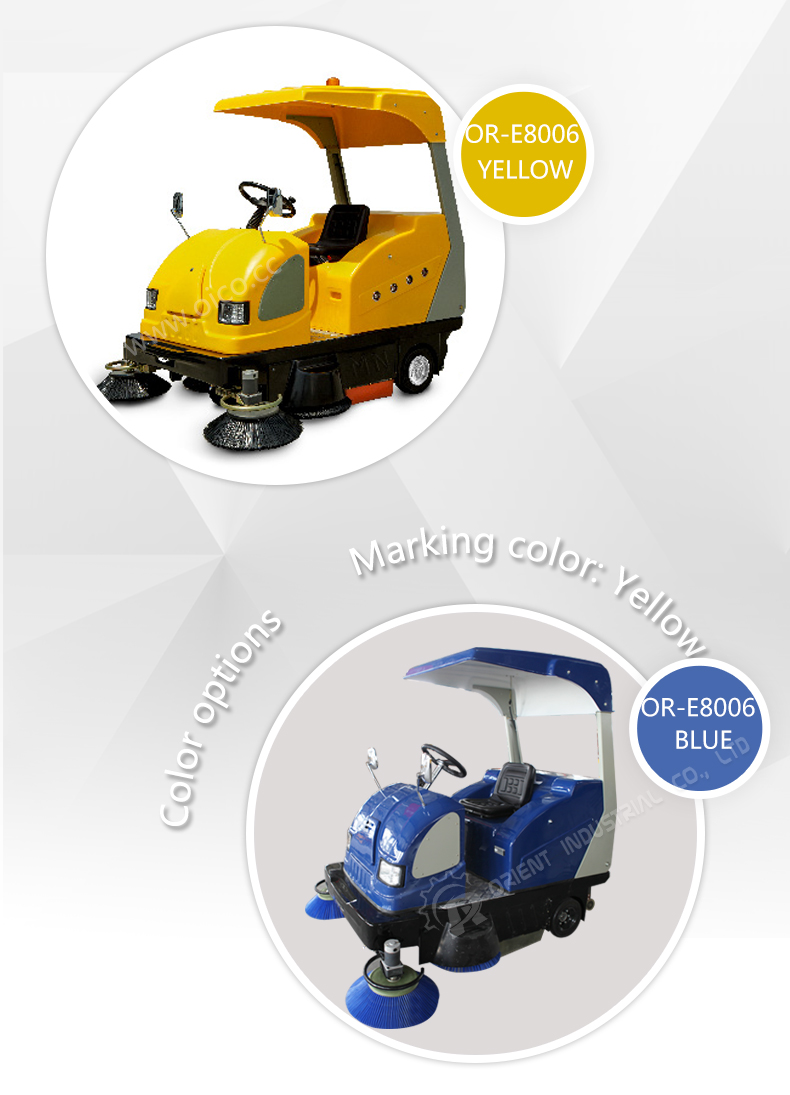Industrial Floor Sweeper Equipment With CE Certificate General Floor Sweeper