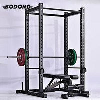 New design Chinese heavy duty free weight fitness squat rack equipment