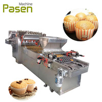 Full automatic cupcake machinery / Cup cake making machine / Cup cake filling machine