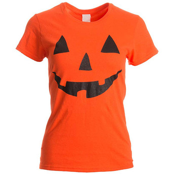 Wholesale Funny Halloween Funny T Shirts For Women Ladies T-shirt Easy Halloween Costume Fun Tee
