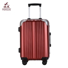 Cheap New Product funky 2 piece set ABS+PC suitcases travel one
