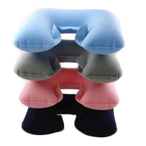 Inflatable U Shape Pillow Neck Air Cushion Pillow