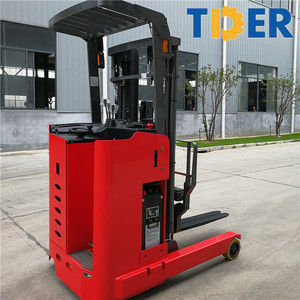 TIDER warehouse 1.5 ton electric reach truck with curtis controller