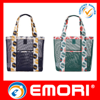 wholesale nylon mesh foldable shopping bag