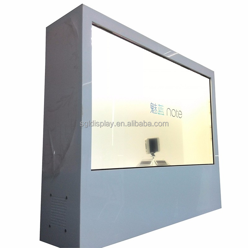 23 inch Transparent lcd display with touch screen