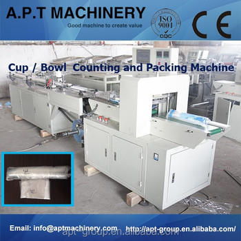 Apt-450s Paper Cup/plastic Cup/eps Foam Cup Packaging Machine ...