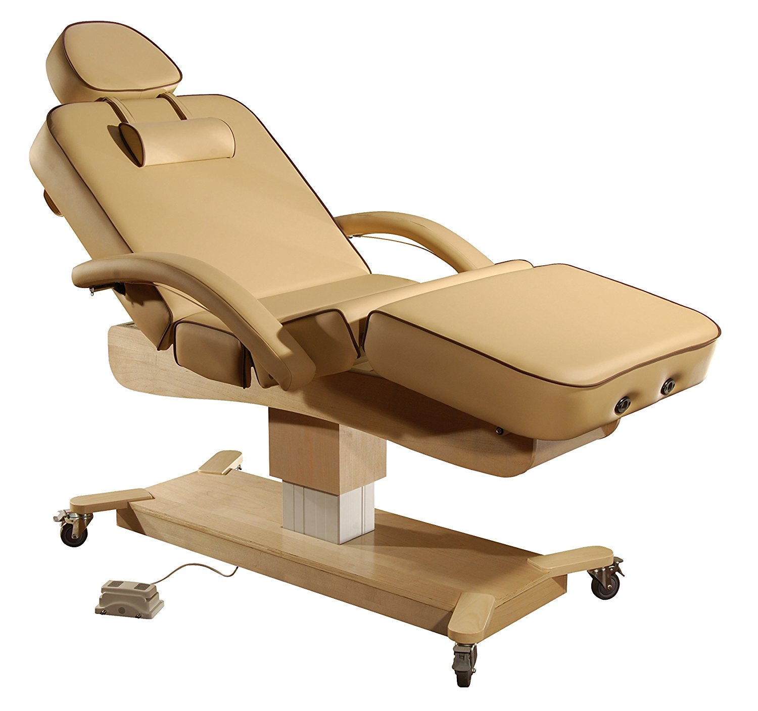 """Mt 30"""" MaxKing Salon Electric Massage Table Package Electric Lift Table with 3.5"""" Cloudysoft Sponge System"""