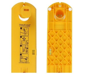 Decorating Yellow 5-100 Picture Hanging Tool