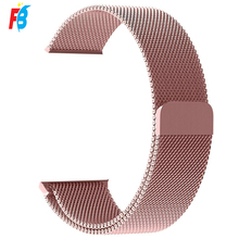 Milanese Lus Rvs Metalen Apple <span class=keywords><strong>Horloge</strong></span> Band Strap Voor Serie 5 4 3 2 1 Size 44 42 40 38 Mm