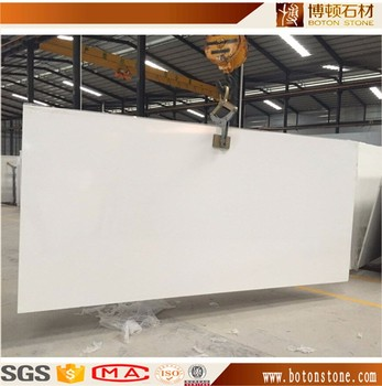 High Quality Polished mirror surface white quartz stone for decoration