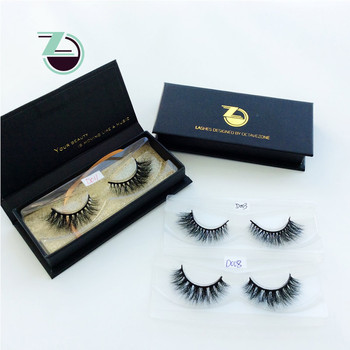 62b6ab1b40f Wholesale Own Logo Eyelashes Box Design For Mink Lashes 1 Pair. View larger  image