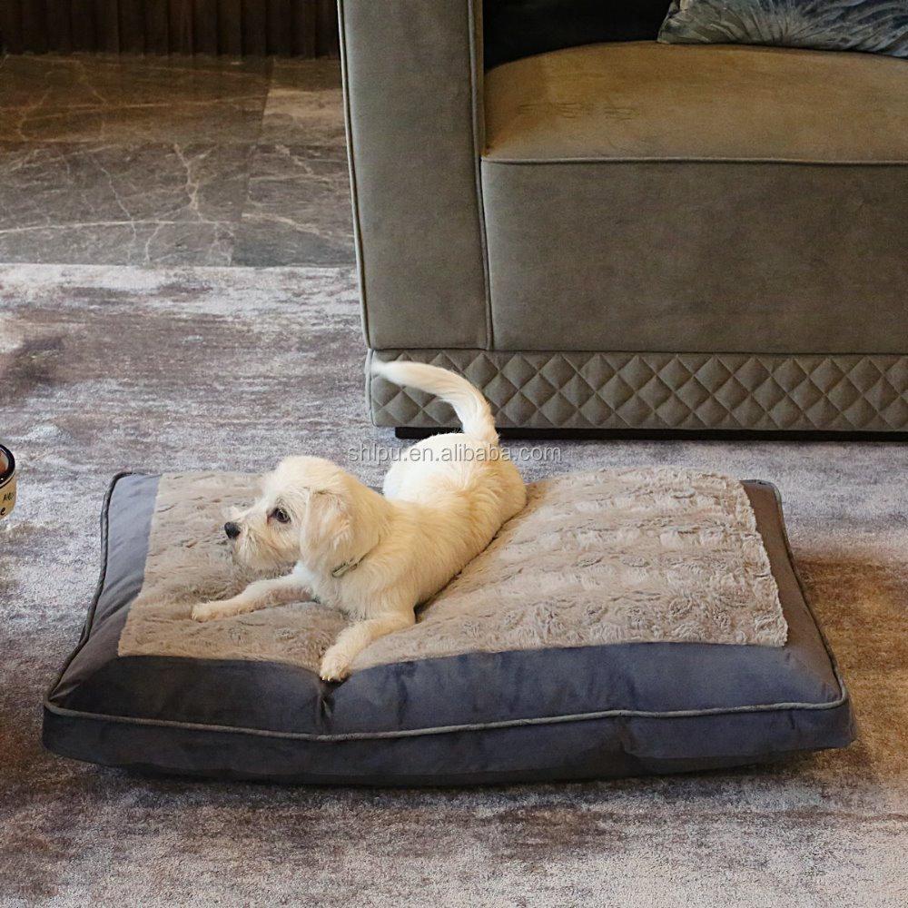 Abu abu Warna Pet Tidur Anjing Tikar Lantai Pet Aksesoris pet kasur Kasur