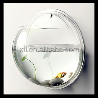 wall mounted round jellyfish aquarium, High Quality Fish Tank