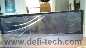 32 inch wall mount transparent screen lcd ad players