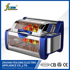 Rotisserie oven and grill for toaster oven and BBQ function chicken rotisserie oven