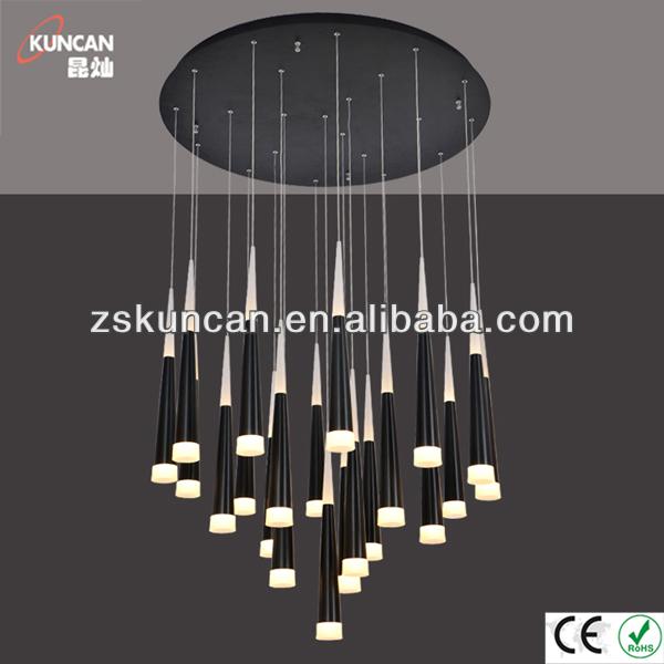 gro e led kronleuchter modern kegelform kronleuchter produkt id 1786216655. Black Bedroom Furniture Sets. Home Design Ideas