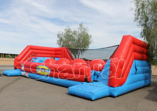 BIG BALLER Inflatable Exciting Inflatable Game Challenges Players Running Ball Games