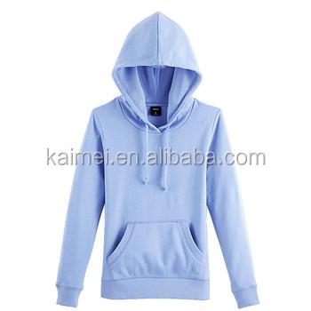 Light purple plain custom fleece hoodies wholesale blank pullover hoodies  CVC 65 35  8c6ea30fdc22