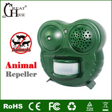 GH-502 Dog Repeller Cat Stop Deer Expeller Raccoon Trap skunk Repulse Fox Chaser squirrel deterrent mice repellent rat anti