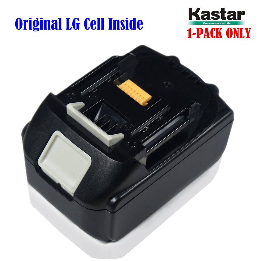 Kastar Rechargeable Battery (1-Pack) Replacement Makita BL1830 18-Volt 3.0Ah (3000mAh) Lithium-Ion Battery for Makita BL1830, BL1815, BL1835, LXT-400, 194205-3, 194309-1 (Supper Fast and Free Shipping from USA--18-Month Warranty)