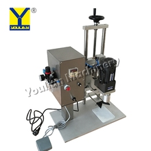 QDX-450 Plastic Cover Capping Machine Manual Plastic Bottle Capping Machine