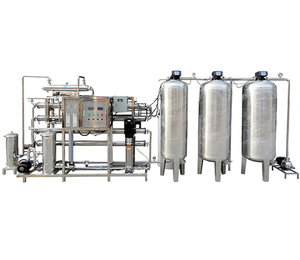 2000LPH factory Industrial ultrapure ro water filtration system
