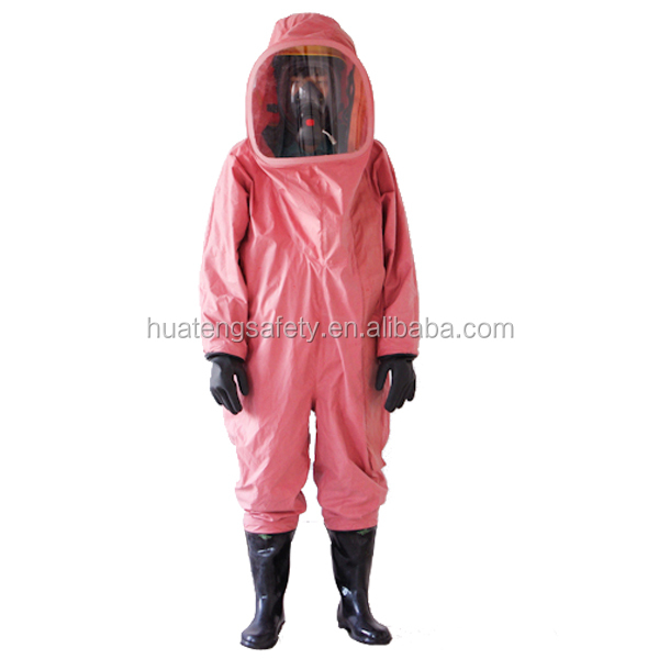 Butyl Rubber Omniseal Chemical Protective Body Suit