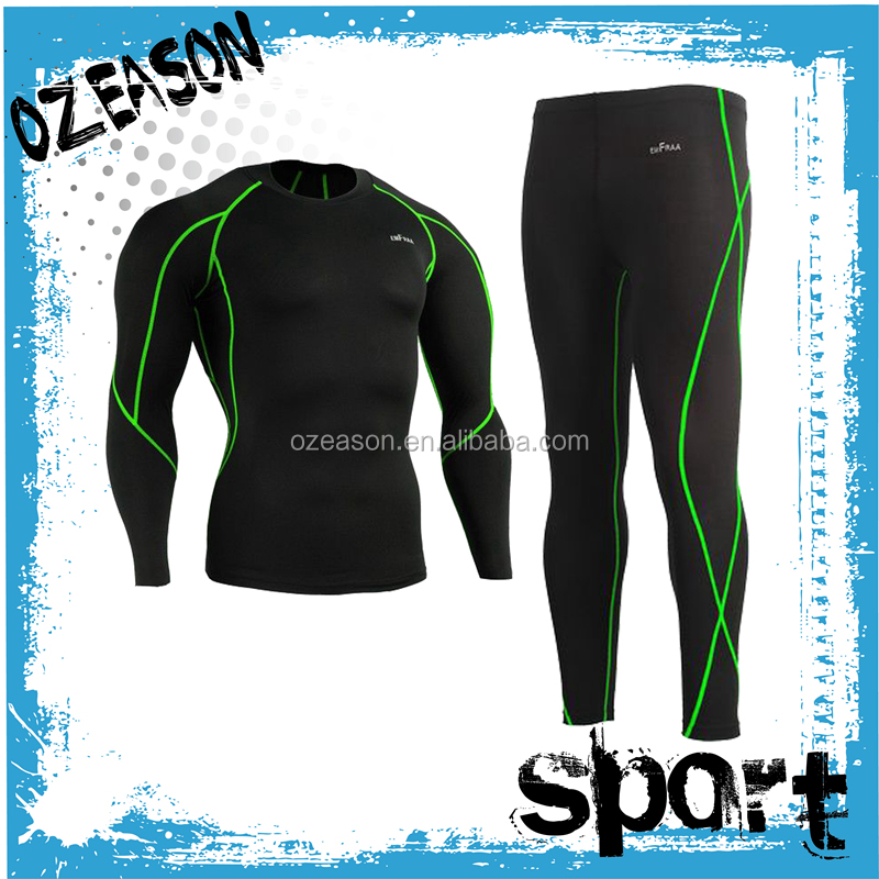 Custom Made Hot Sale Sports Running Mens Gym Compression Wear