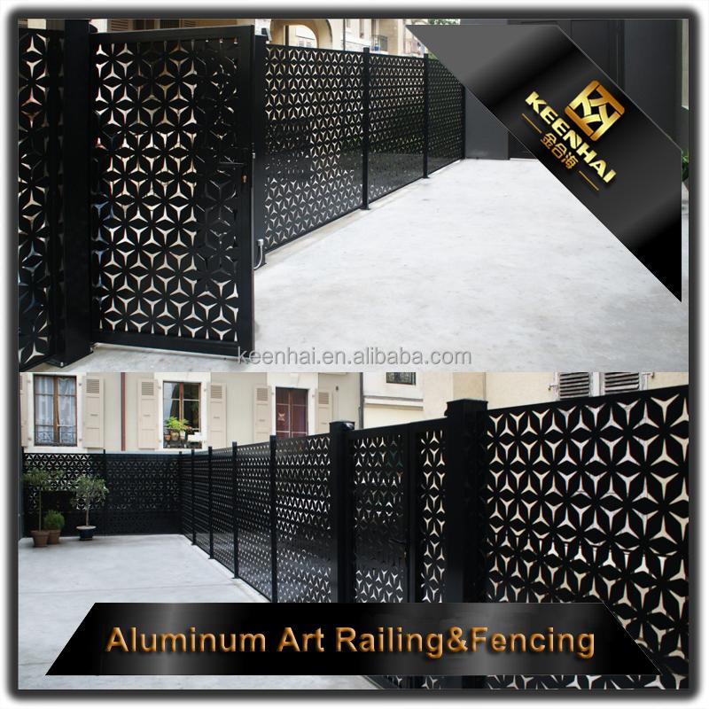L ser de corte de aluminio de esgrima valla de chapa - Metro laser barato ...