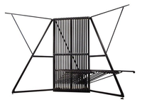 hanging rug/carpet display metal rack