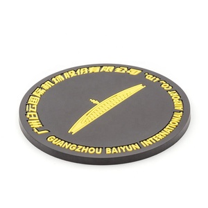 New product ideas factory custom wholesale rubber soft pvc silicone cup coaster