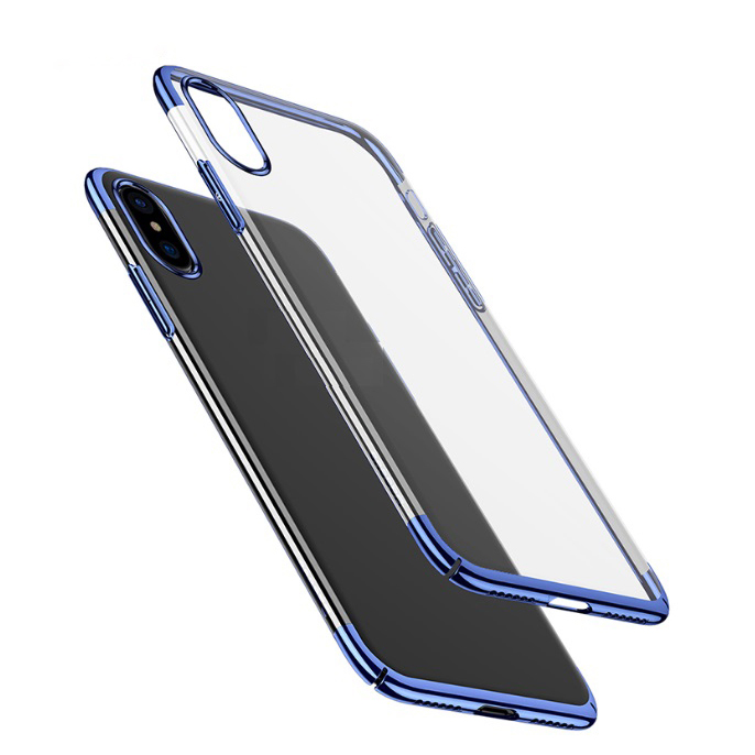 China Phone Case Manufacturer Supply Electroplating Ultra-thin TPU Phone Case for Iphone XS фото
