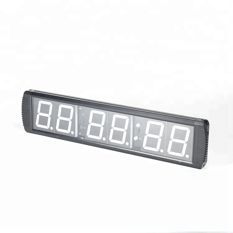 Customized Gym Used Countdown Timer sport training 6 digits led remote digital timer