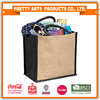 coca cola audit factory fashion jute bag from China