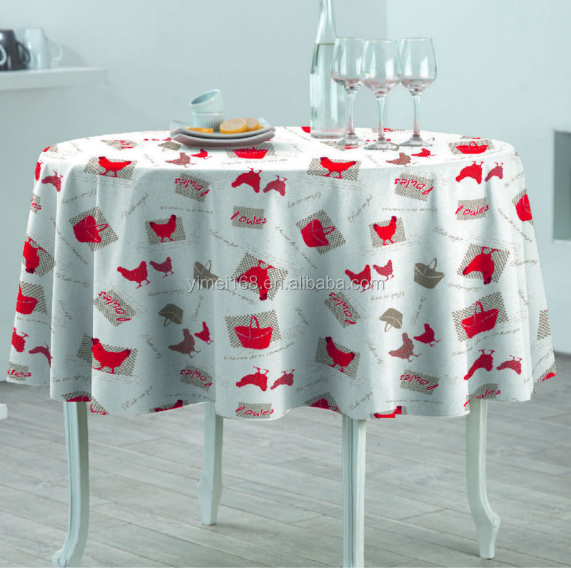 Hot Sale vinyl table covering / 1.4x20m No fading printed pvc table cloth/ natural printed pvc tablecloths